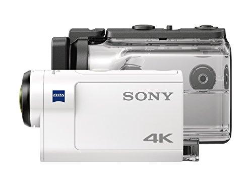 Sony FDR-X3000R + AKA-FGP1 Camera d'action ultra-stabilisée/4K | Travel Kit | Blanc 31