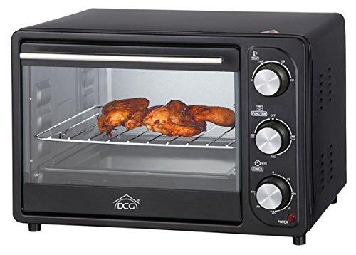 DCG Eltronic MB9820 N Elettrico 20L 1300W Nero forno