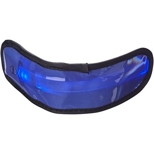 Bullet - Olymp - Fascia da braccio con LED (4.4 x 16 x 1 cm) (Blu)