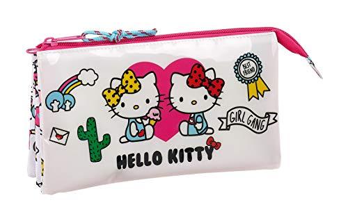 Hello Kitty 2018 Astuccio, 22 cm, Rosa