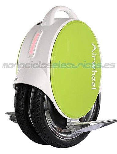 Airwheel Q5, Monoruota Elettrico Autobilanciante Uomo, Verde, 37.3 x 53 x 18.5