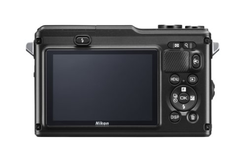 "Nikon 1 AW1 - Cámara EVIL de 14.2 Mp (pantalla 3"", estabilizador, vídeo Full HD, GPS), color negro - kit con objetivo 1 Nikkor 11-27.5mm"