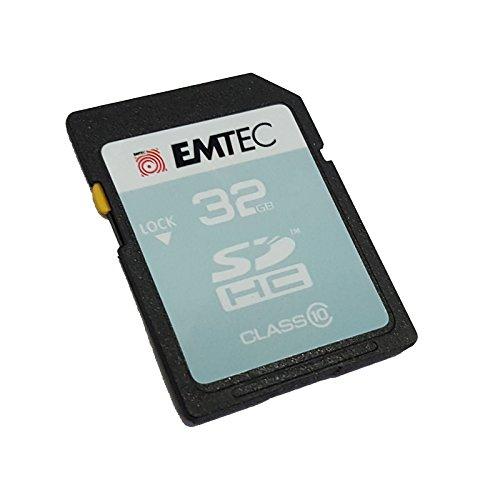 Emtec - Scheda di Memoria SDHC da 32 GB, Classe 10, per Canon EOS 450D, EOS 500D, EOS 550D, EOS 600D