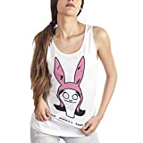 MUSH Eighteen Clothing Funny Canotta S Donna Louise Belcher Bob's Burger by