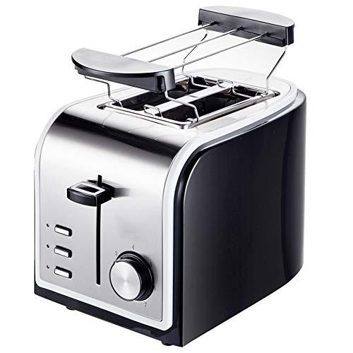 KKDWJ 5 in 1 Toaster Tostapane a 2 sezioni con scongelamento Funzione di annullamento Annulla...