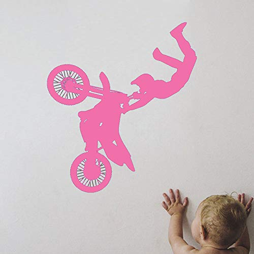 guijiumai Vinile Sport Adesivo murale Tribal Bike Moto Room Decoration Design Poster Mural Decals...