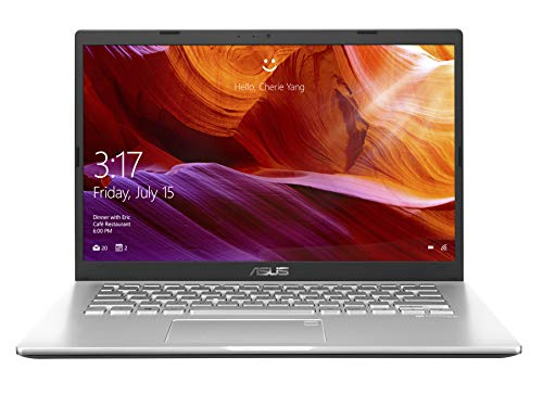 ASUS VivoBook 14 X409UA-EK341T Intel Core i3 7th Gen 14-inch FHD Thin and Light Laptop (4GB RAM/1TB HDD/Windows 10/Integrated Graphics/1.60 kg), Transparent Silver