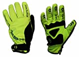 Polaris Kid's RBS Mini Hoolie Cycle Gloves Fluo Yellow/Black Large