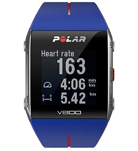 Polar V800 Orologio GPS multisport per monitoraggio attività fisica, altimetro barometrico, con...