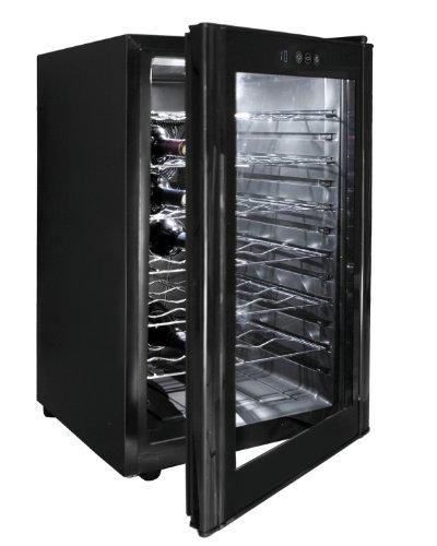 Lacor, 69175, Cantinetta per 28 bottiglie di vino, in acciaio Inox 10/18, Nero