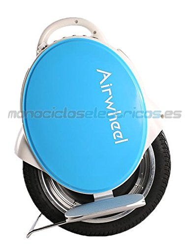Airwheel Q5, Monoruota Elettrico Autobilanciante Uomo, Blu, 37.3 x 53 x 18.5