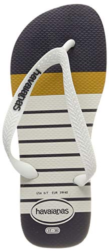 Havaianas Top Nautical, Infradito Uomo, Multicolore (White/White 0198), 43/44 EU [41/42 BR]