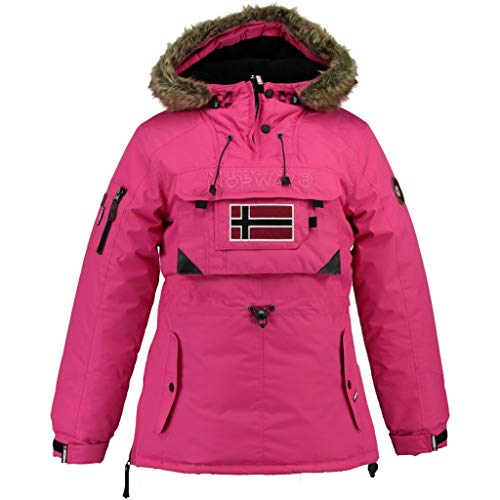Geographical Norway Parka Ragazze Baby Rosa 12