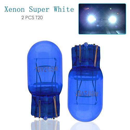 T20luce laterale e DRL, Maso W21/5W 580Dual filamento super bianco lampadine HID effetto...