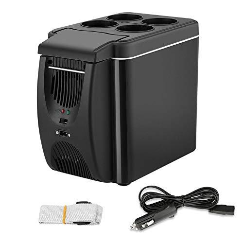 Frigorifero per Auto Raffreddatore/congelatore a compressore Mini Portatile da 6 Litri con Funzione...
