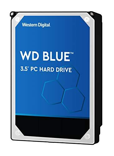"""WD Blue - Disco duro para ordenadores de sobremesa de 1 TB (7200 rpm, SATA a 6 Gb/s, 64 MB de caché, 3,5"""") azul"""