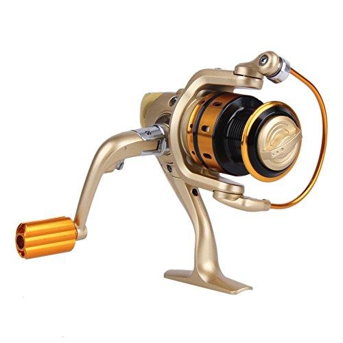 MULINELLO spinnrollen 10BB cuscinetti a sfera Pesca d' acqua dolce Mulinello da Spinning 5,5: 1Star Earby MR500-7000, MR2000, 110.00 * 110.00 * 75.00