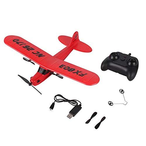 LKHJ Modello di Aereo FX803 Telecomando Aereo RC Aliante Giocattolo150m Schiuma Aeroplano Rosso Blu...