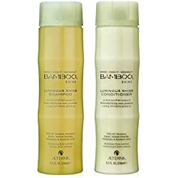 Bamboo Shine Luminous Shine Shampoo Unisex Shampoo and Conditioner by Alterna (8.5 Ounce each)