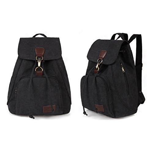 8e18de425a3e Retro-Canvas-Backpack-Fletion-Vintage-Designer-Rucksack-Travel-
