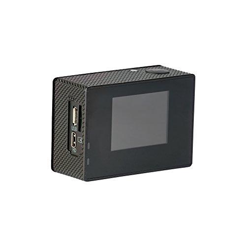 """SJCAM SJ4000 (versión española) - Videocámara deportiva (LCD, 2"""", 1080p, 30 fps, sumergible), color negro"""