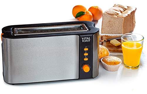 XSQUO Useful Tech Vital Toast tostapane capacità Due tostapane Slot XL 1000 W di Potenza Funzione...