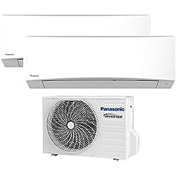 Panasonic Mre - Impianto climatizzatore Inverter Duo Multi Split, portatile 9000+ 9000btu