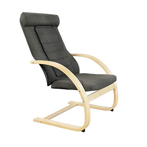 Medisana RC 410 Relaxsessel 88410, mit eingebauter Shiatsu-Massage, Wärmefunktion zur Entspannung mit Spotmassage, Stuhl mit Wohlfühlfaktor und Massagefunktion