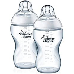 Tommee Tippee Closer to Nature - Biberón, 340 ml (pack de 2)