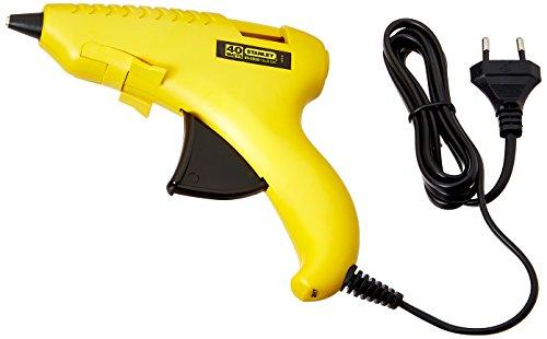 Stanley 69GR20B Plastic Gluepro Trigger Feed Hot Melt Glue Gun, Yellow