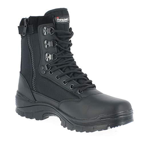 Tactical Boot mit YKK-Zipper schwarz Gr.43/ UK10