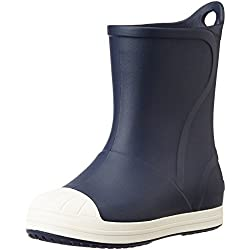crocs Bump it Boot Kids, Unisex - Kinder Gummistiefel, Blau (Navy/Oyster), 29-30 EU