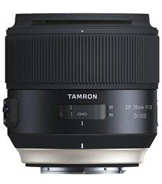 Tamron SP - Objetivo para Sony DSLR (Distancia Focal Fija 35 mm, Apertura f/1.8, Di, USD, diámetro Filtro: 67 mm), Negro