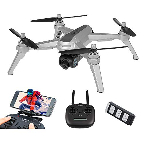 JJR/C JJPRO X5 EPIK 1080P 5G WiFi FPV Fotocamera GPS Posizionamento Follow Me Altitude Hold RC Drone Quadcopter (Argento)