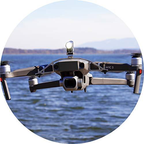 Notte Volo LED faro (Mavic Pro Drone)–360Lumen, Luce Bianca (FPV illuminazione), inclinabile...