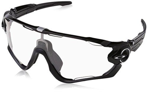 Oakley Sonnenbrille Jawbreaker Gafas de Sol, Negro Pulido, 1 para Hombre
