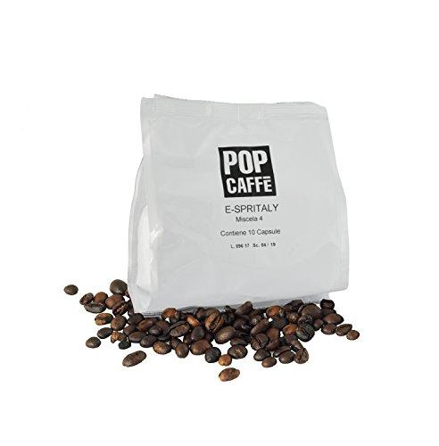 ODC MADE IN ITALY Kit Formato da 100 CAPSULE CAFFÈ DECAFFEINATO Compatibili con le Macchine da Caffè Caffitaly.