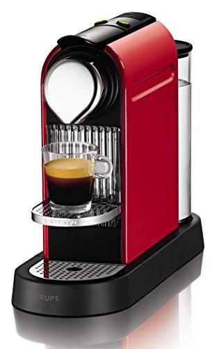 Nespresso Citiz EN166CW macchina per caffè espresso di Krups, colore Rosso
