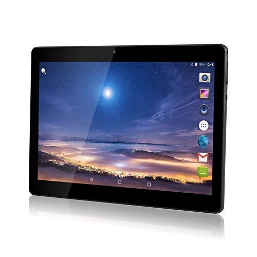 Android 8.1 Tablet 10 Zoll Dual-SIM,4GB RAM 64GB Speicher Octa Core CPU,1920 * 1200 Full HD IPS Touchscreen,Dual Kamera 3MP und 8MP, WiFi/WLAN/Bluetooth/GPS TYD-108(Schwarz)