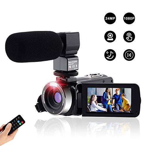 Videocamera Digitale Full Hd Fotocamera Compatta 1080P 24M,Fambrow Macchina Fotografica Zoom...