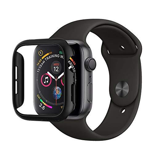 Spigen Apple Watch 44mm Custodia, Thin Fit progettato per Apple Watch 44mm Series 4 Case Cover - Noir