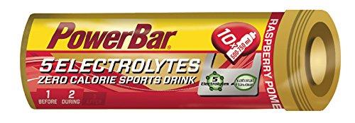 Bebida Isotónica 5Electrolytes 6 Tabs PowerBar (60 tabletas) Frambuesa y Granada