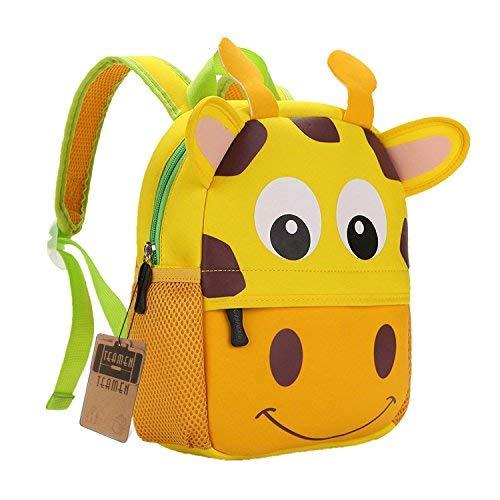 TEAMEN Zaino per bambini, Animale Scuola Borsa, Zaino per bambino,ragazzi, ragazze da 2 - 5 età...