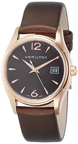 Hamilton Damen Analog Quarz Uhr mit Stoff Armband H32341975