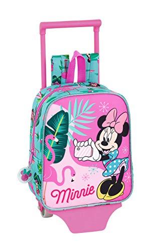 Minnie Mouse'Palms' Ufficiale Zaino Asilo con trolley Safta, 220 x 100 x 270 mm