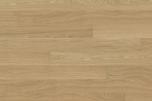 Woodstore Handelsgesellschaft PATEBC1316217.10630 - Parquet in legno di quercia laccato, 13 x 162 x...