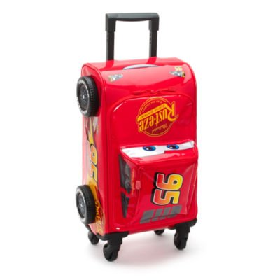 Ufficiale Disney Cars Saetta Mcqueen Childrens Trolley Suitcase