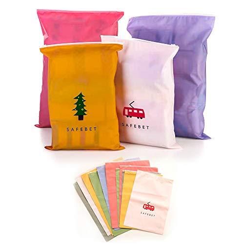 ZOCONE Sacchetti di Immagazzinaggio, 10 PCS Bags-in-Bag Organizzatori di bagagli, Impermeabile,...
