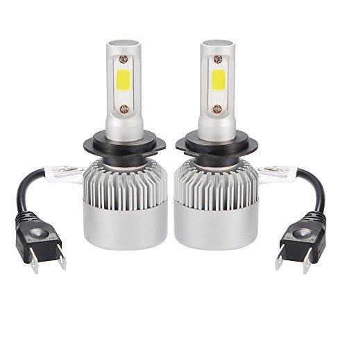 Bonega 20000LM 200W CREE LED Faretto Faro H7 lampada alogena Ventola di raffreddamento incorporata...