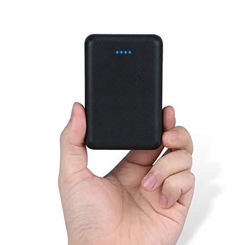 POSUGEAR Powerbank 10000mAh, Caricatore Portatile con 2 Uscite (2.1A+1A) Compatibile con Tutti i...